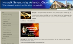 Norwalk Adventist Church home page